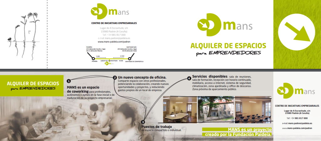 Banner coworking Padron